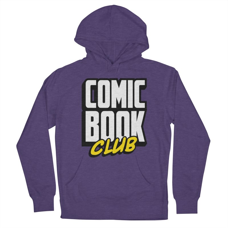Comic Book Club Men's French Terry Pullover Hoody by Comic Book Club Official Shop