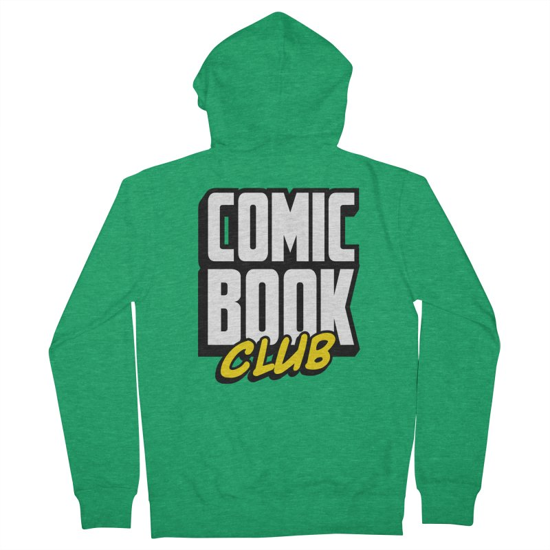 Comic Book Club Women's Zip-Up Hoody by Comic Book Club Official Shop