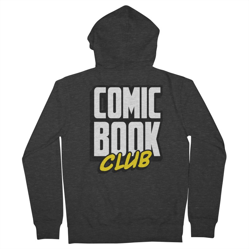 Comic Book Club Women's French Terry Zip-Up Hoody by Comic Book Club Official Shop