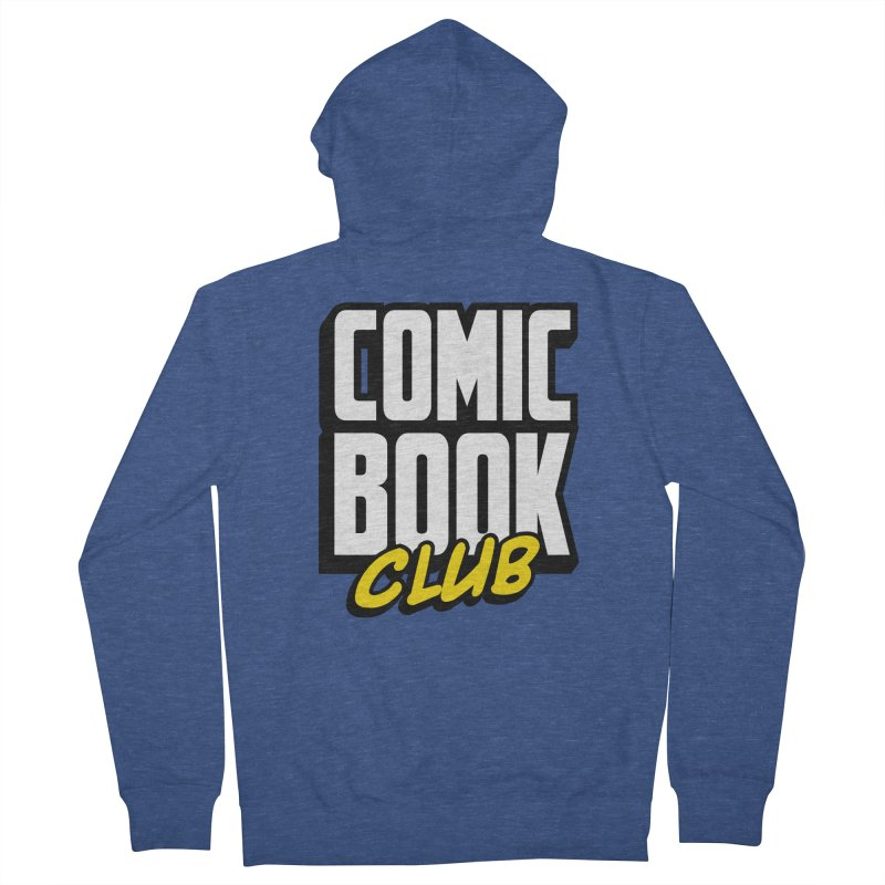 Comic Book Club Men's French Terry Zip-Up Hoody by Comic Book Club Official Shop