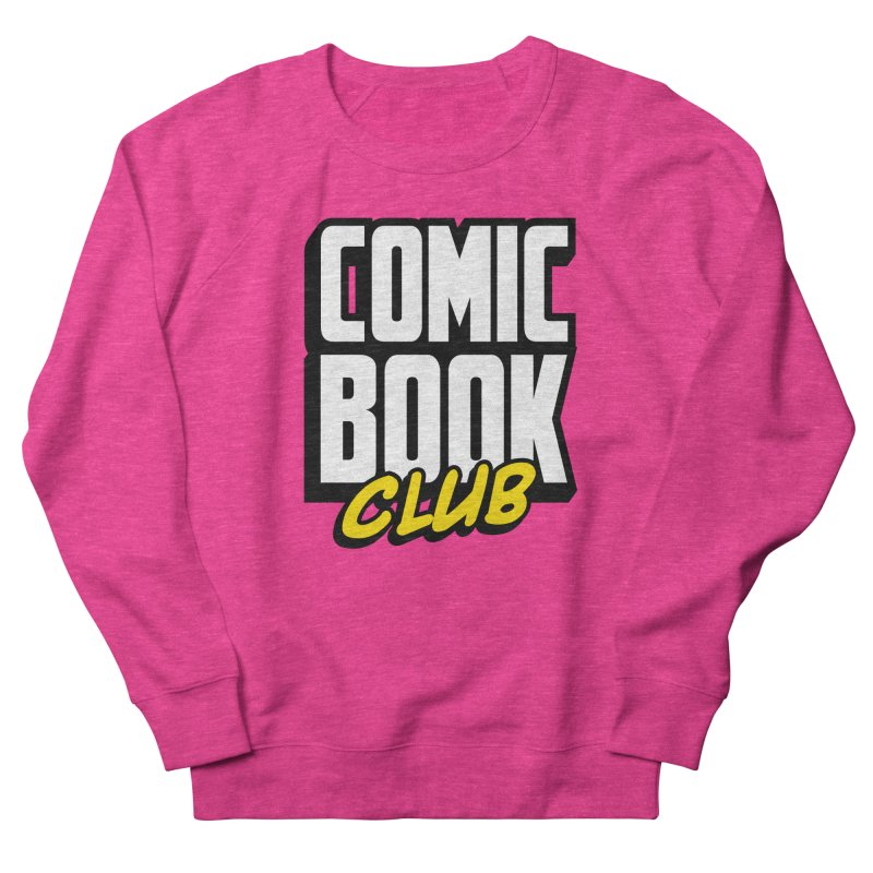 Comic Book Club Men's French Terry Sweatshirt by Comic Book Club Official Shop