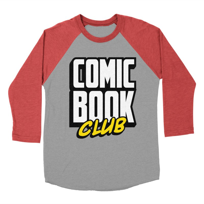 Comic Book Club Women's Baseball Triblend Longsleeve T-Shirt by Comic Book Club Official Shop