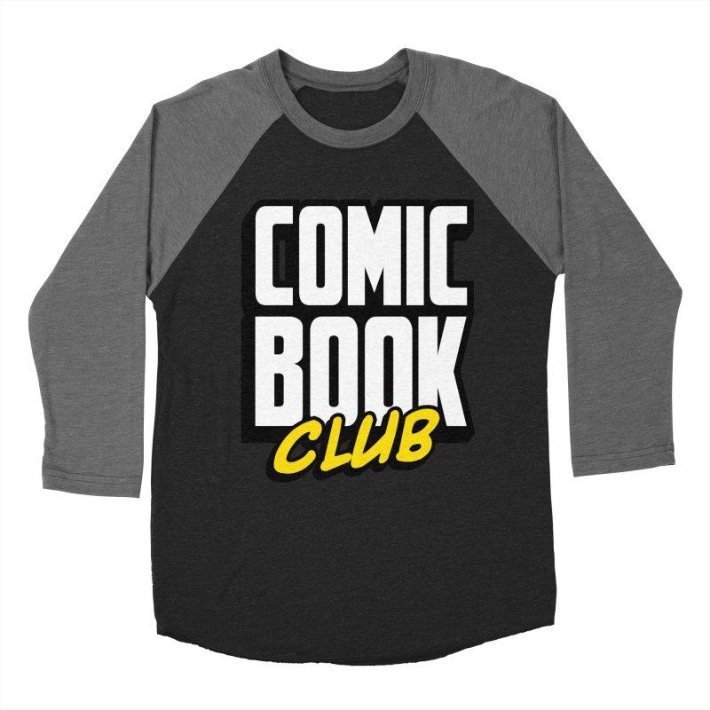 Comic Book Club Men's Baseball Triblend Longsleeve T-Shirt by Comic Book Club Official Shop
