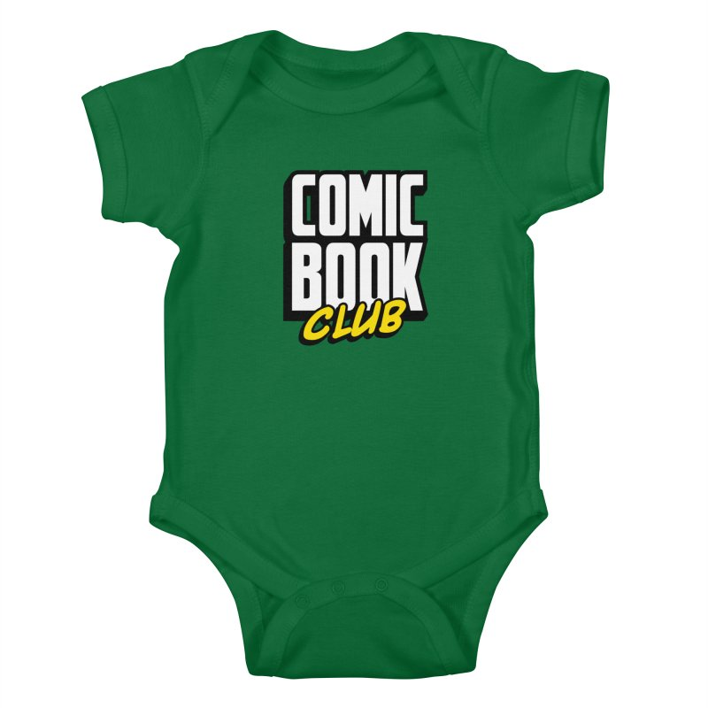 Comic Book Club Kids Baby Bodysuit by Comic Book Club Official Shop