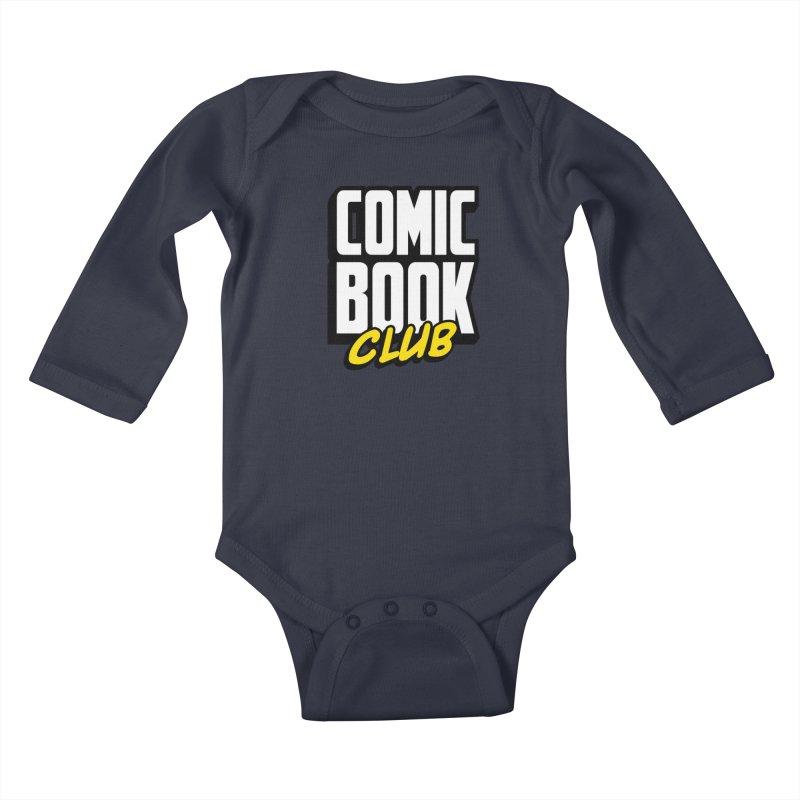 Comic Book Club Kids Baby Longsleeve Bodysuit by Comic Book Club Official Shop