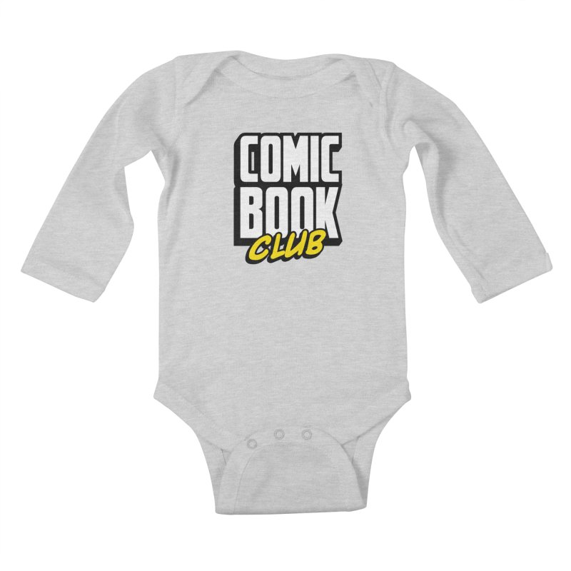 Comic Book Club Kids Baby Longsleeve Bodysuit by Comic Book Club Official Shop