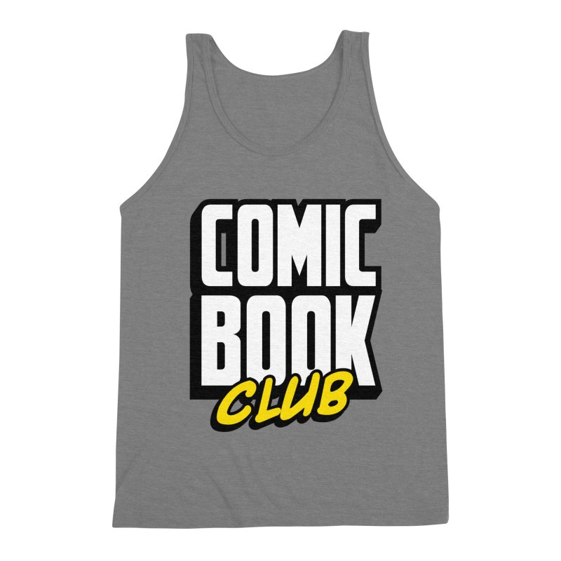 Comic Book Club Men's Triblend Tank by Comic Book Club Official Shop