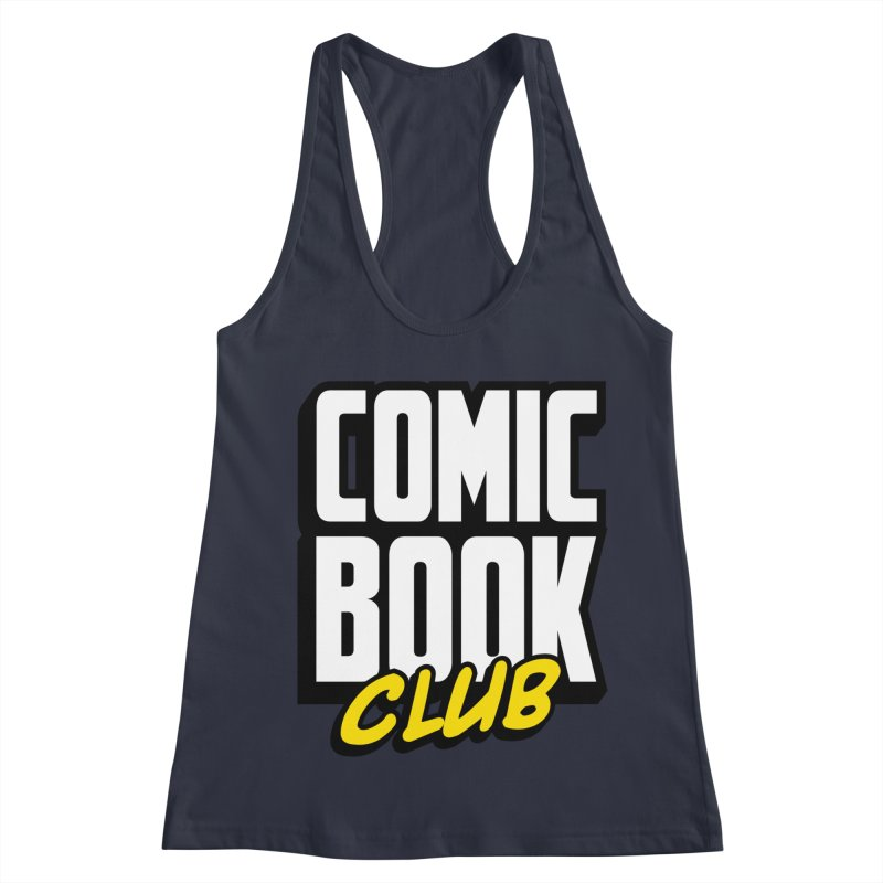 Comic Book Club Women's Racerback Tank by Comic Book Club Official Shop