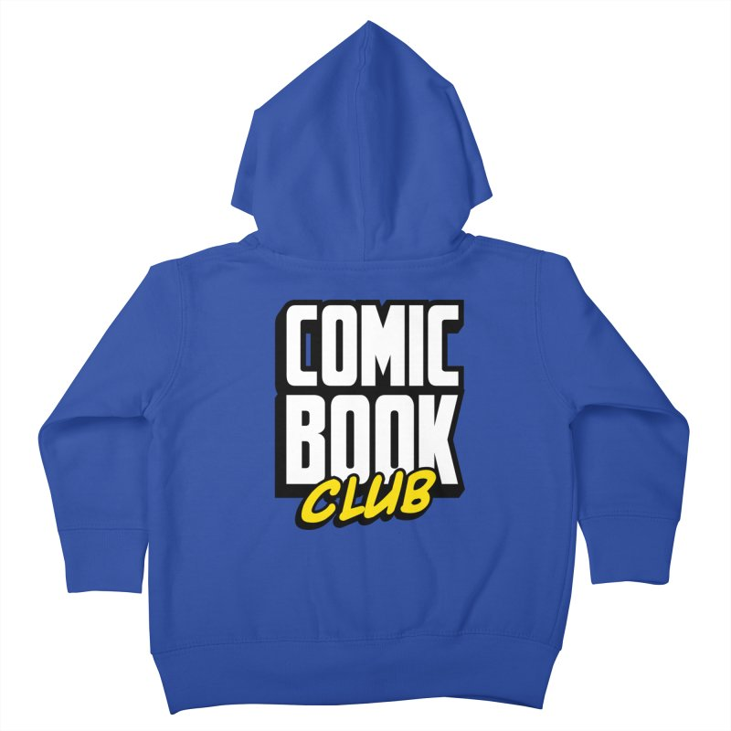 Comic Book Club Kids Toddler Zip-Up Hoody by Comic Book Club Official Shop