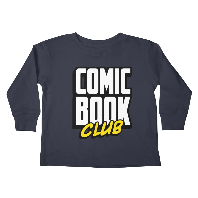 Comic Book Club Kids Toddler Longsleeve T-Shirt by Comic Book Club Official Shop