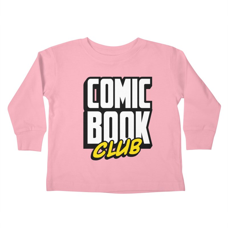 Comic Book Club Kids Toddler Longsleeve T-Shirt by Comic Book Club Official Shop