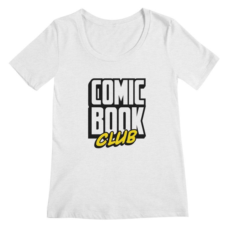 Comic Book Club Women's Regular Scoop Neck by Comic Book Club Official Shop