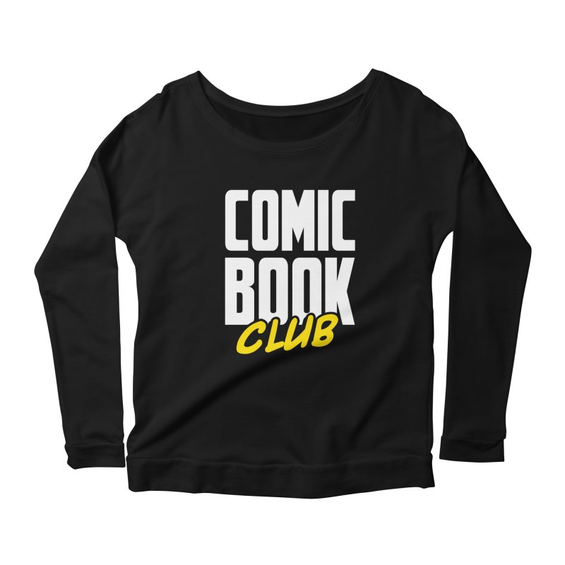 Comic Book Club Women's Scoop Neck Longsleeve T-Shirt by Comic Book Club Official Shop