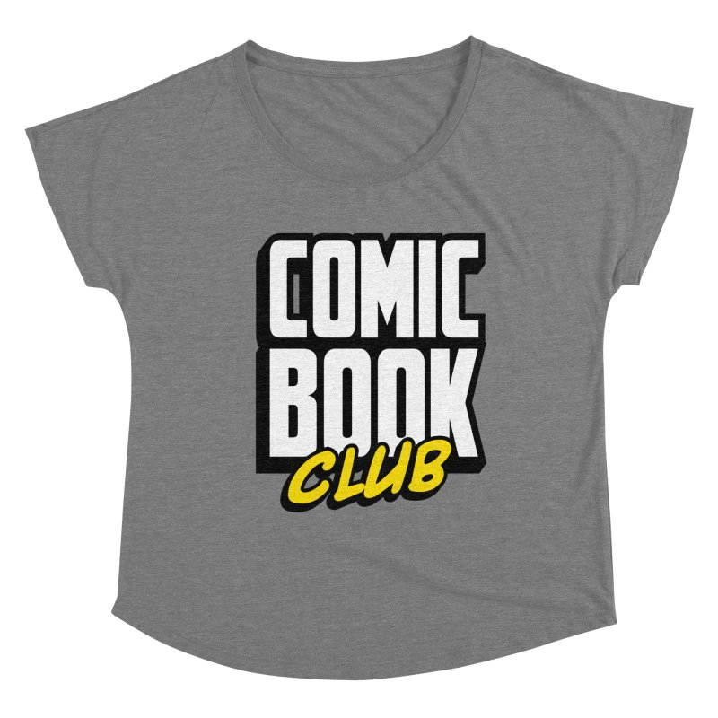 Comic Book Club Women's Scoop Neck by Comic Book Club Official Shop