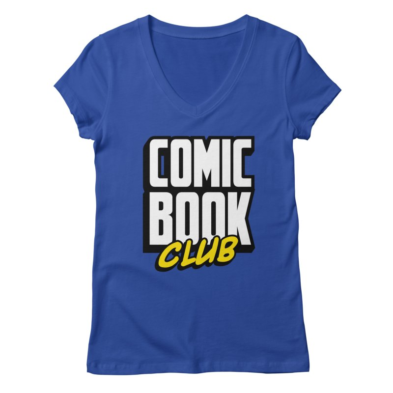 Comic Book Club Women's Regular V-Neck by Comic Book Club Official Shop