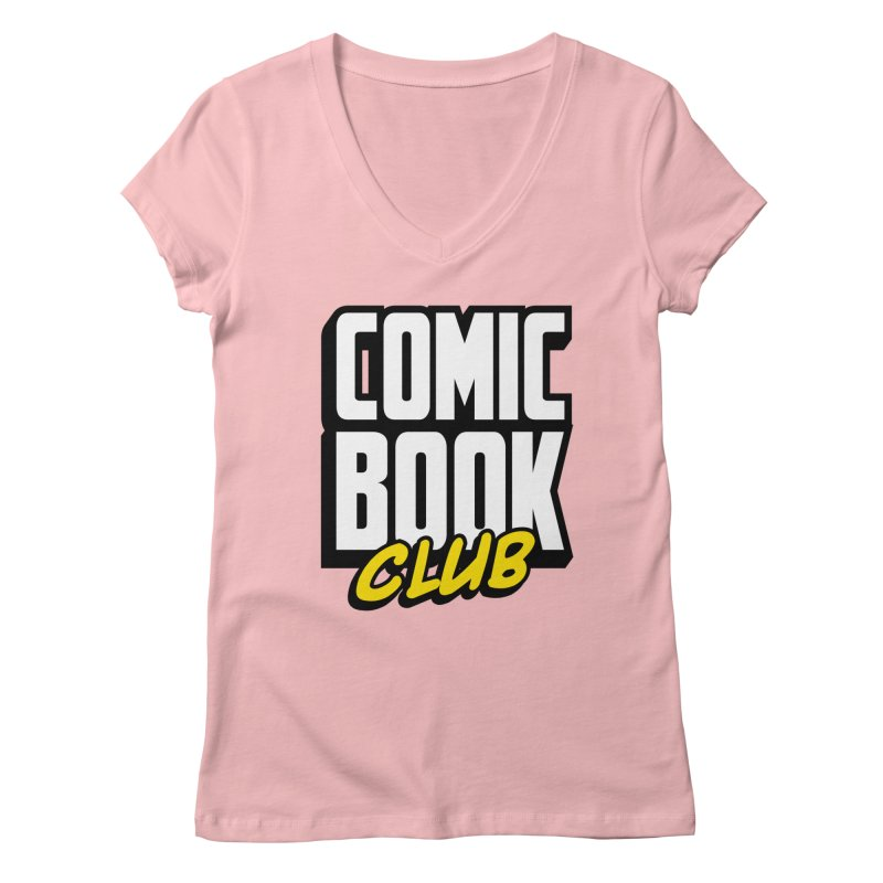 Comic Book Club Women's Regular V-Neck by Comic Book Club Official Shop