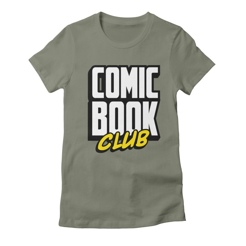 Comic Book Club Women's Fitted T-Shirt by Comic Book Club Official Shop
