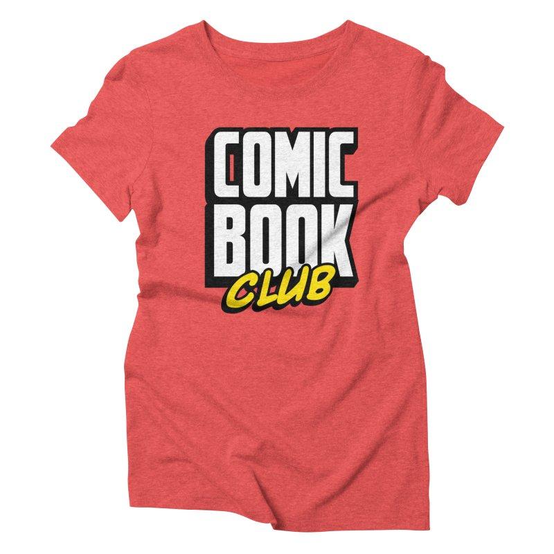 Comic Book Club Women's Triblend T-Shirt by Comic Book Club Official Shop