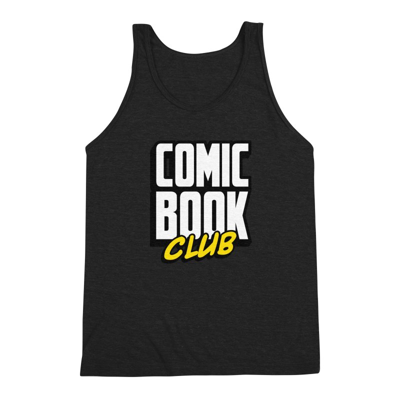 Comic Book Club Men's Triblend Tank by Comic Book Club Official Shop