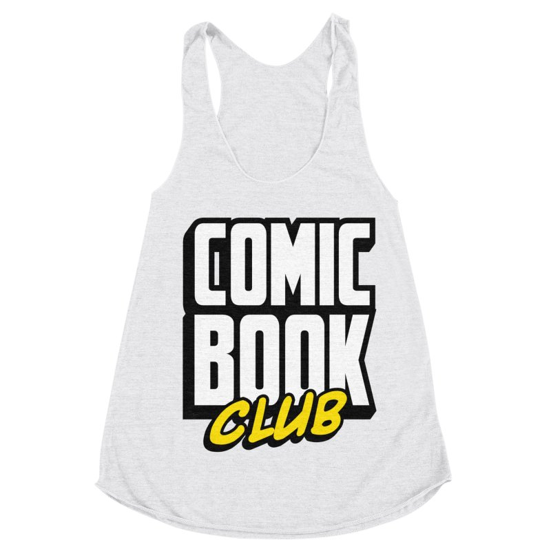 Comic Book Club Women's Racerback Triblend Tank by Comic Book Club Official Shop