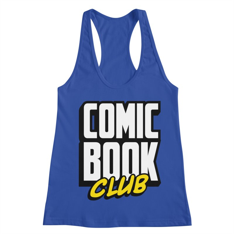 Comic Book Club Women's Racerback Tank by Comic Book Club Official Shop
