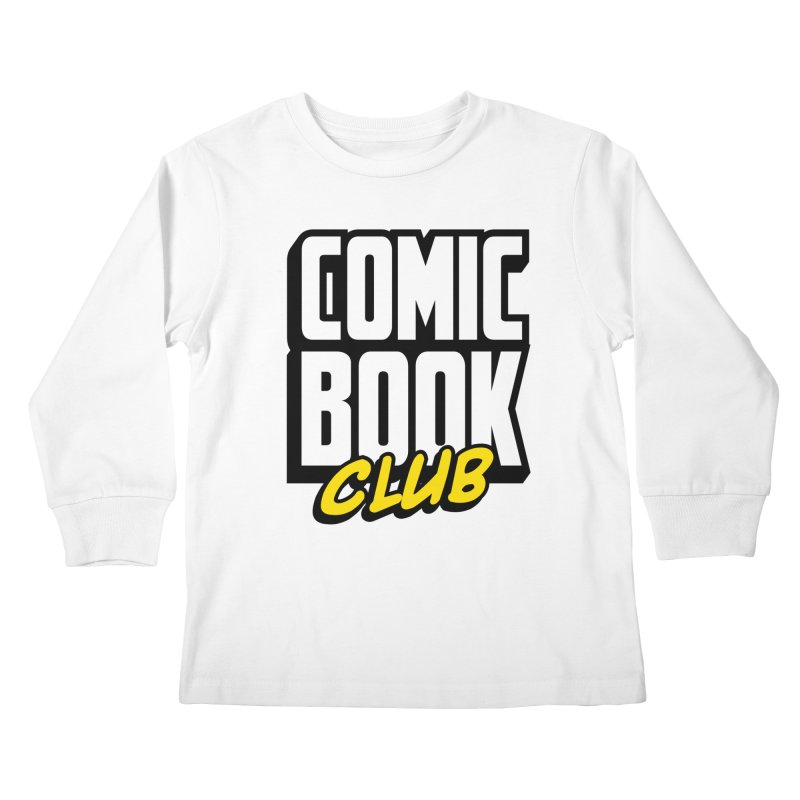 Comic Book Club Kids Longsleeve T-Shirt by Comic Book Club Official Shop