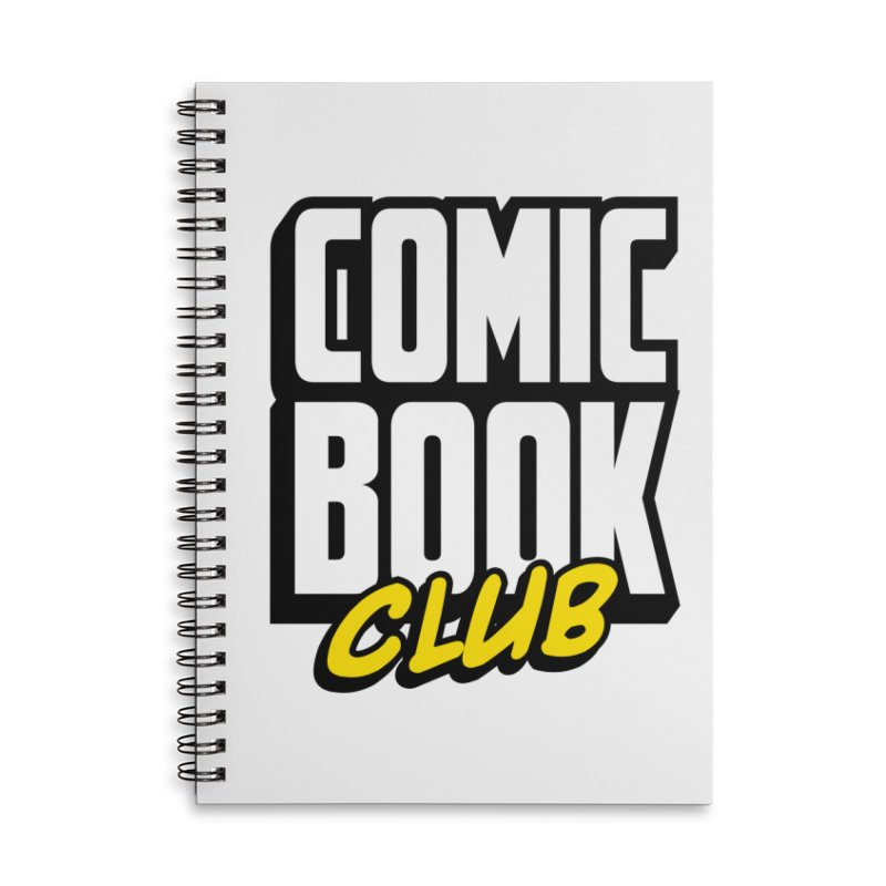 Comic Book Club Accessories Notebook by Comic Book Club Official Shop
