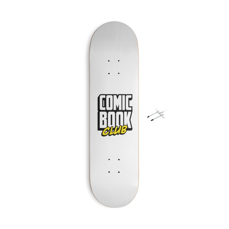 Comic Book Club Accessories With Hanging Hardware Skateboard by Comic Book Club Official Shop
