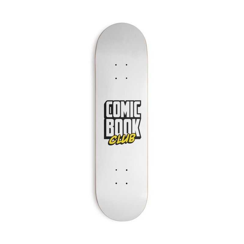 Comic Book Club Accessories Deck Only Skateboard by Comic Book Club Official Shop