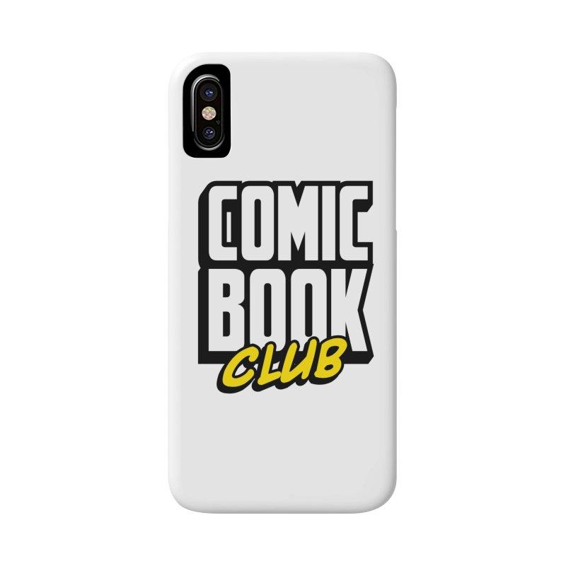 Comic Book Club Accessories Phone Case by Comic Book Club Official Shop