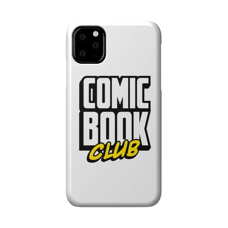 Comic Book Club Accessories Phone Case by Comic Book Club Official Shop