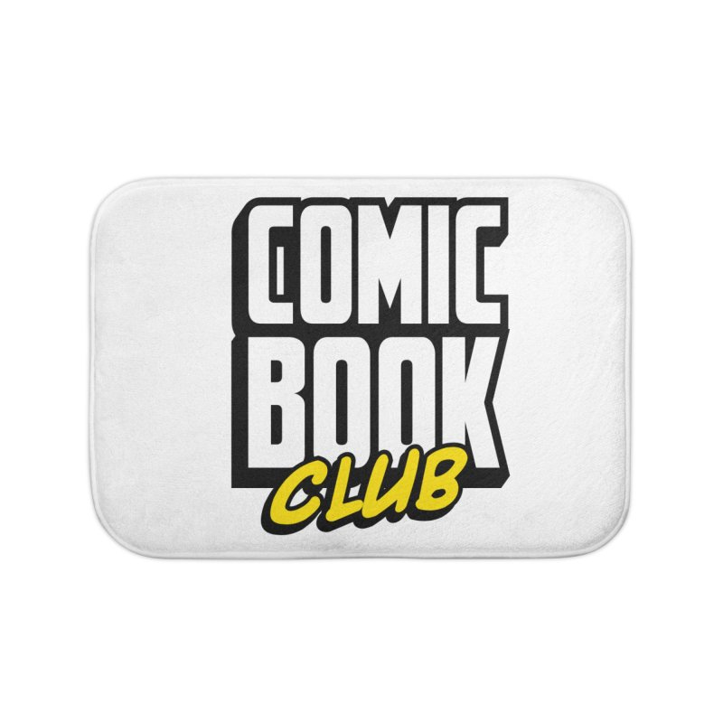 Comic Book Club Home Bath Mat by Comic Book Club Official Shop