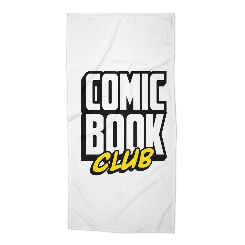 Comic Book Club Accessories Beach Towel by Comic Book Club Official Shop