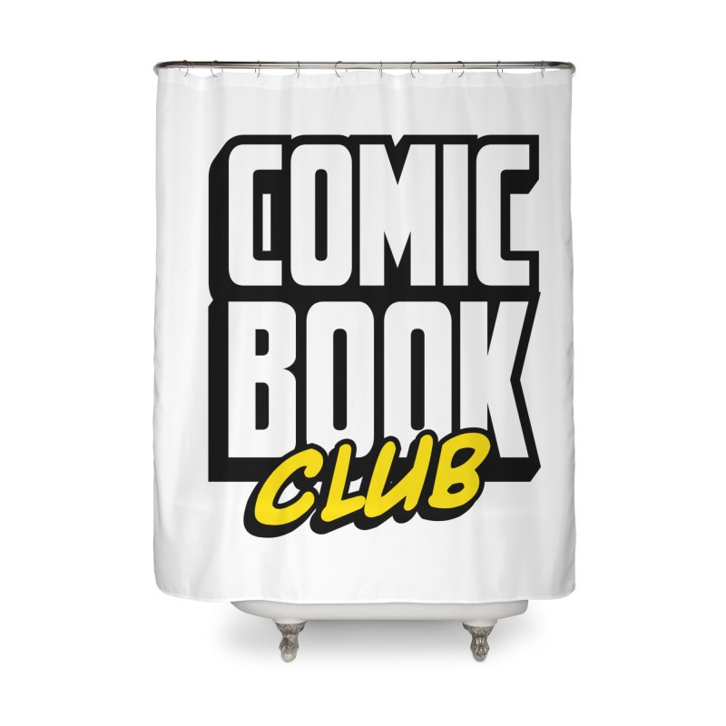 Comic Book Club Home Shower Curtain by Comic Book Club Official Shop