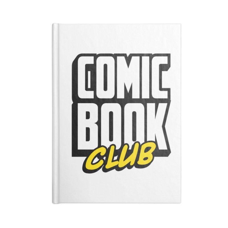 Comic Book Club Accessories Blank Journal Notebook by Comic Book Club Official Shop