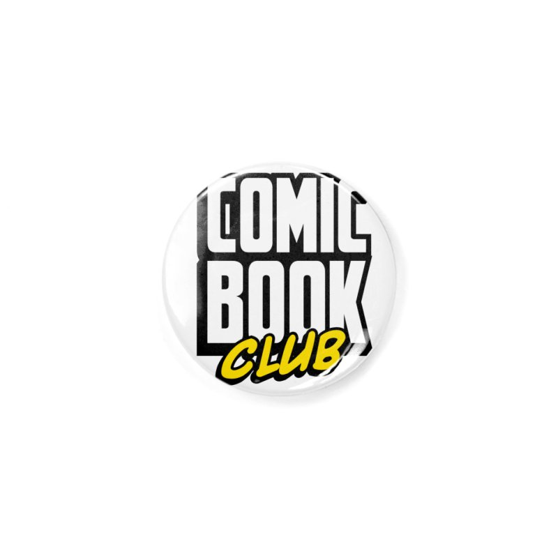Comic Book Club Accessories Button by Comic Book Club Official Shop