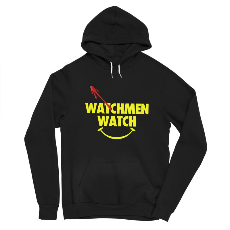 Watchmen Watch - Yellow on Black Women's Pullover Hoody by Comic Book Club Official Shop