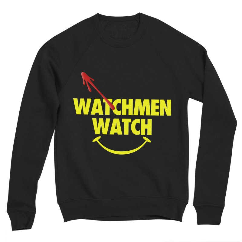 Watchmen Watch - Yellow on Black Men's Sweatshirt by Comic Book Club Official Shop
