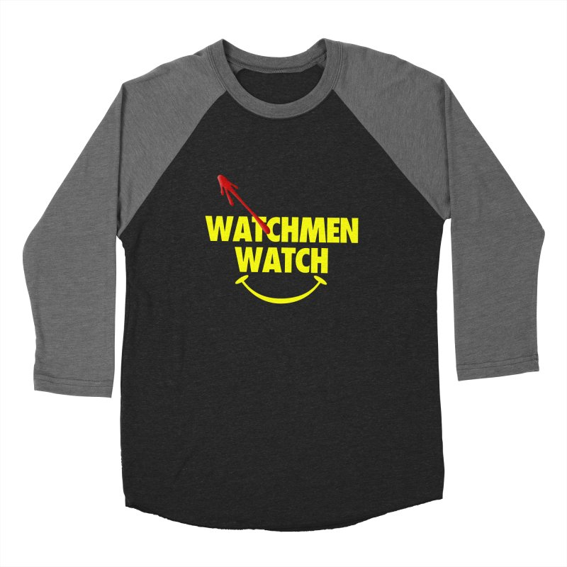 Watchmen Watch - Yellow on Black Women's Longsleeve T-Shirt by Comic Book Club Official Shop