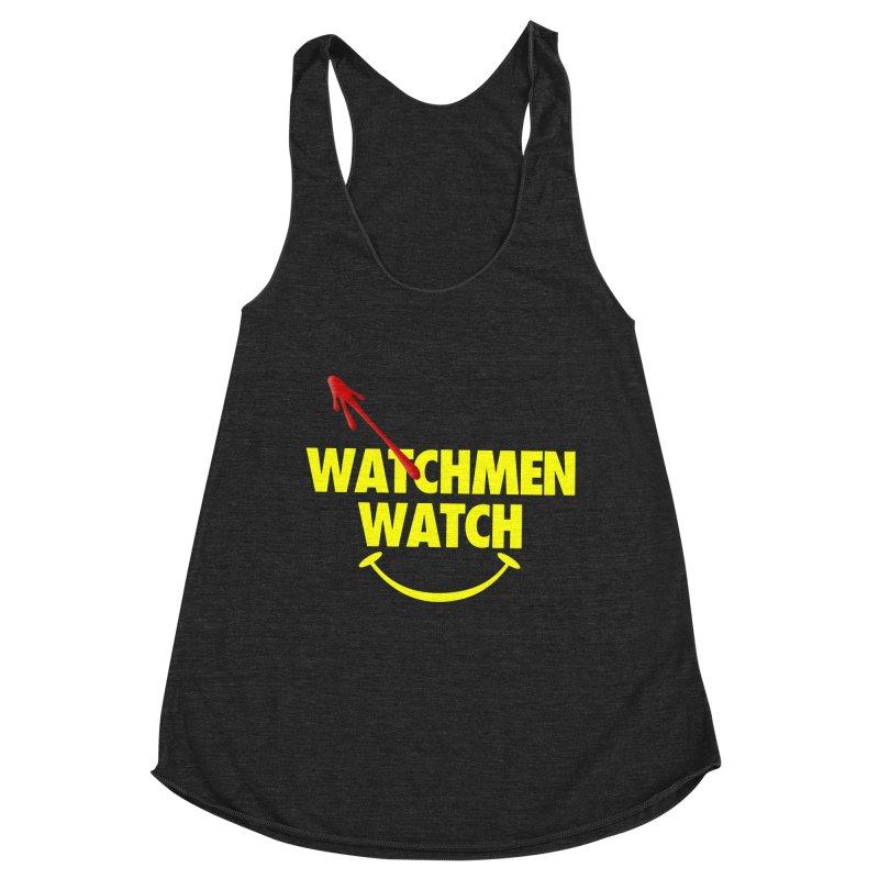 Watchmen Watch - Yellow on Black Women's Tank by Comic Book Club Official Shop