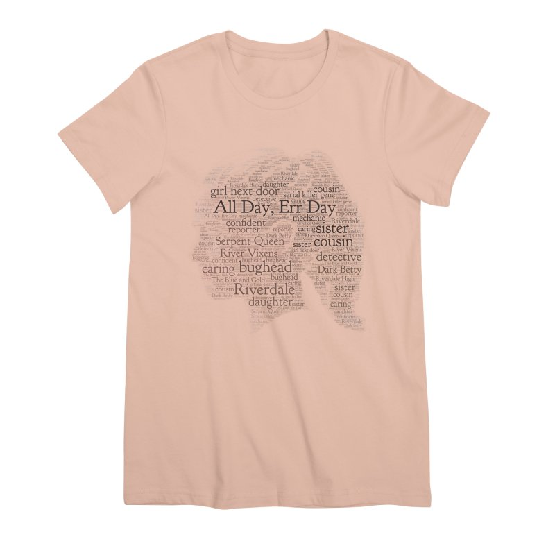 Betty All Day, Err Day Women's Premium T-Shirt by Comic Book Club Official Shop