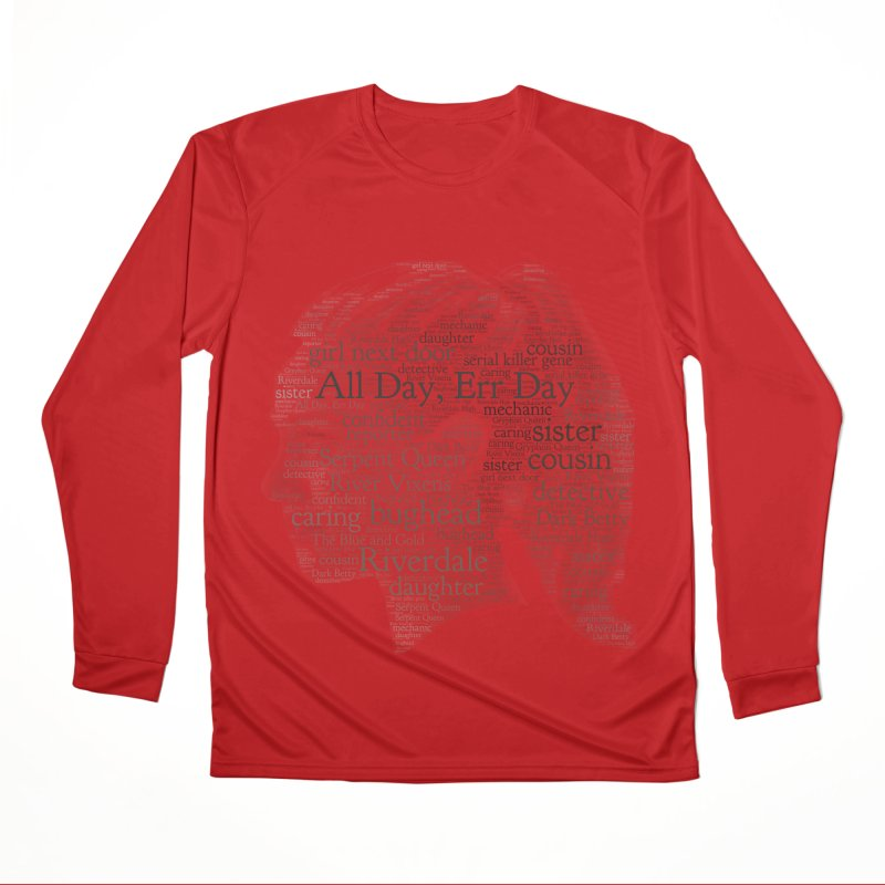 Betty All Day, Err Day Women's Performance Unisex Longsleeve T-Shirt by Comic Book Club Official Shop