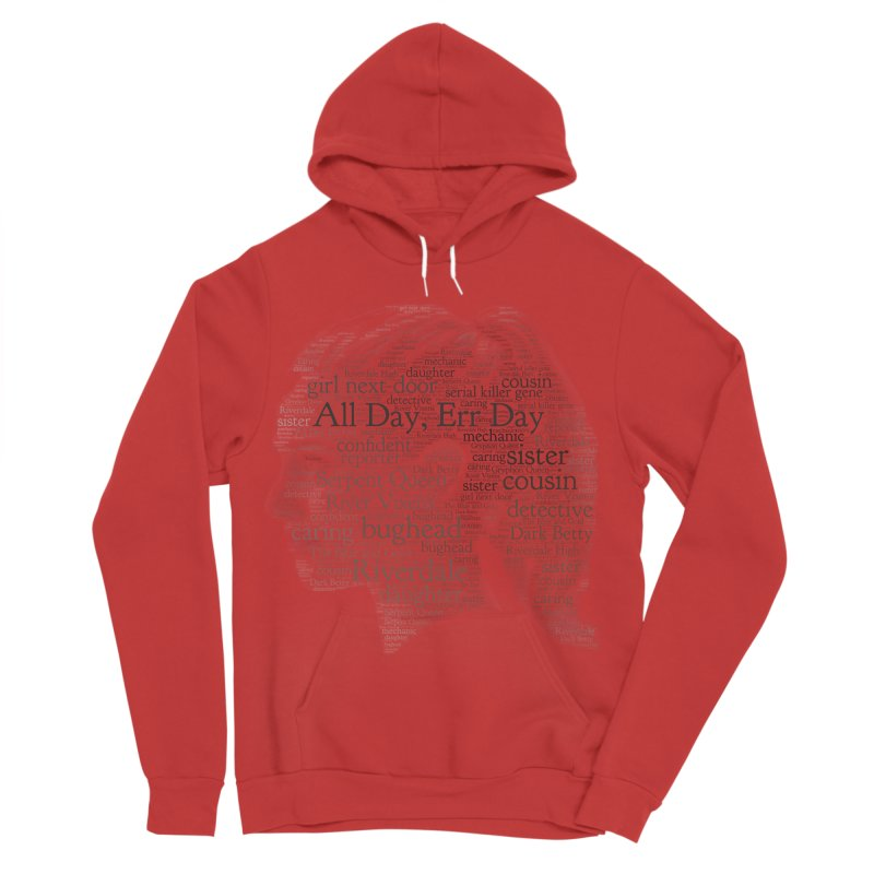Betty All Day, Err Day Women's Sponge Fleece Pullover Hoody by Comic Book Club Official Shop
