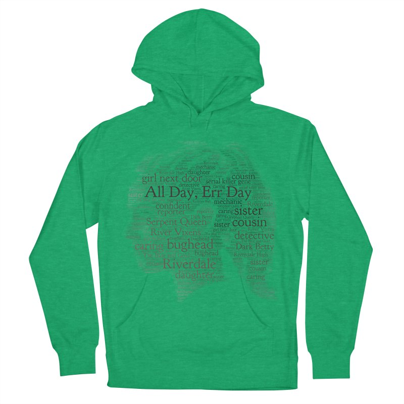 Betty All Day, Err Day Men's French Terry Pullover Hoody by Comic Book Club Official Shop