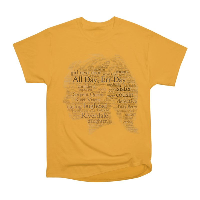 Betty All Day, Err Day Women's Heavyweight Unisex T-Shirt by Comic Book Club Official Shop