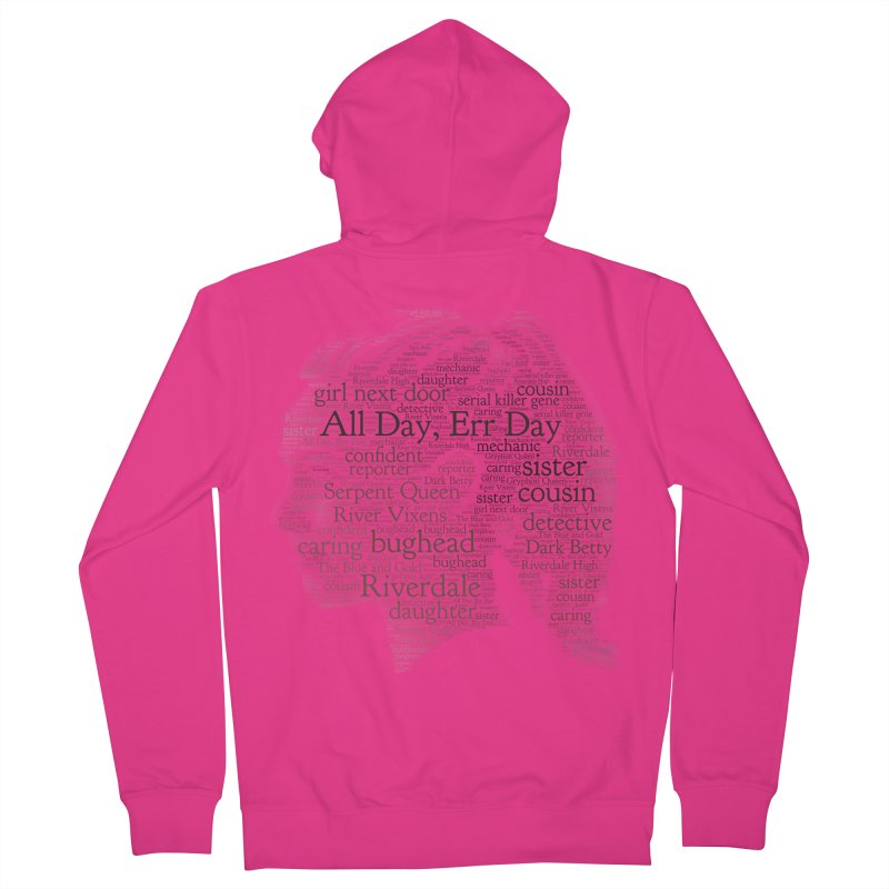 Betty All Day, Err Day Men's Zip-Up Hoody by Comic Book Club Official Shop
