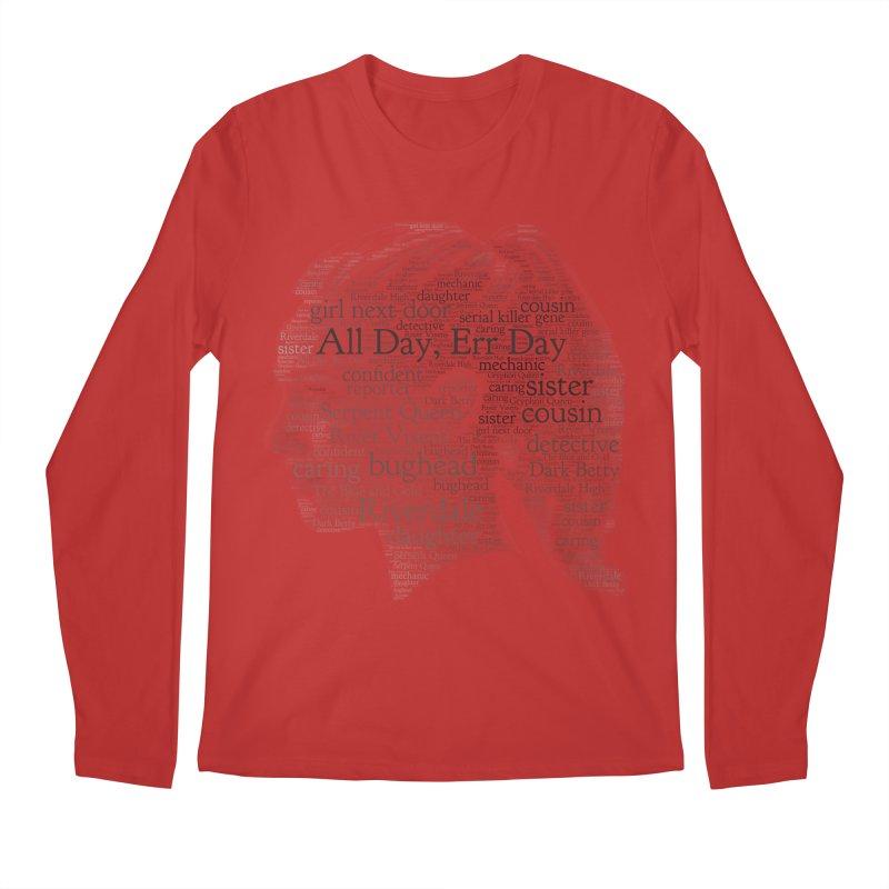 Betty All Day, Err Day Men's Regular Longsleeve T-Shirt by Comic Book Club Official Shop
