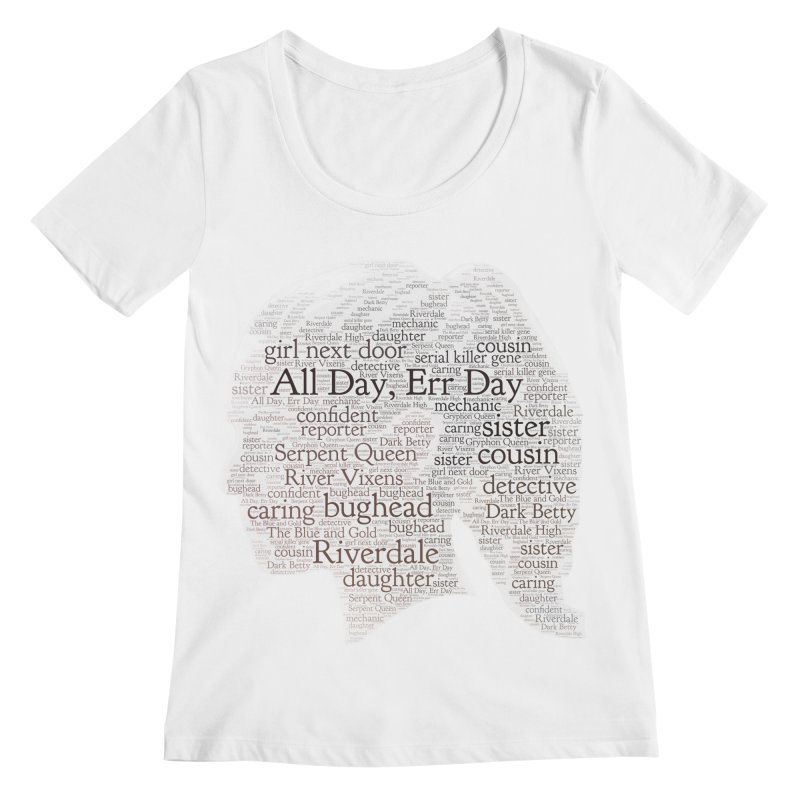 Betty All Day, Err Day Women's Regular Scoop Neck by Comic Book Club Official Shop