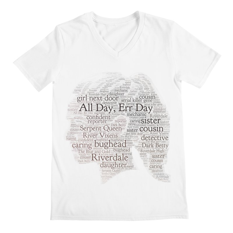 Betty All Day, Err Day Men's V-Neck by Comic Book Club Official Shop
