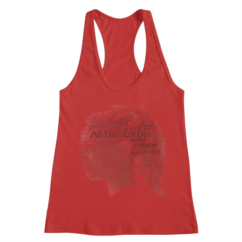 Betty All Day, Err Day Women's Racerback Tank by Comic Book Club Official Shop